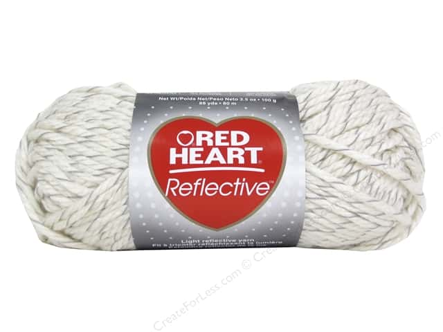 Red Heart Reflective Yarn 88 yd. #8112 Aran