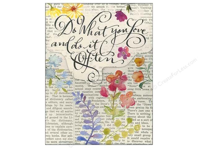 Molly & Rex Pocket Note Pad Words In Bloom Do What You Love
