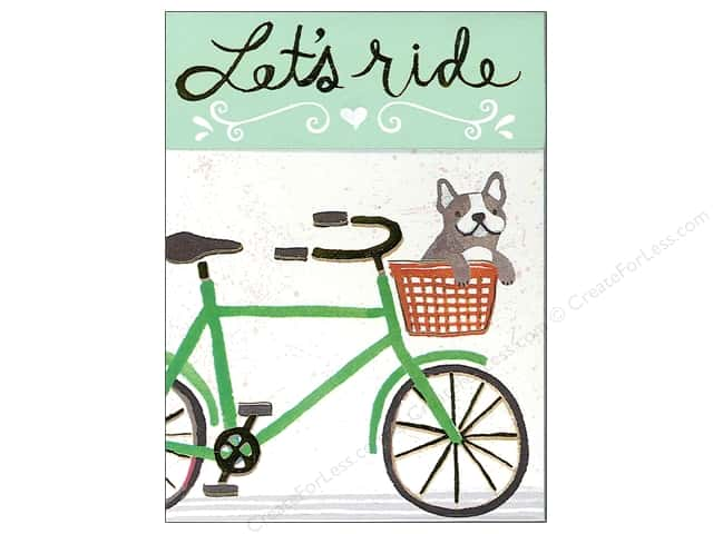 Molly & Rex Pocket Note Pad Let's Ride
