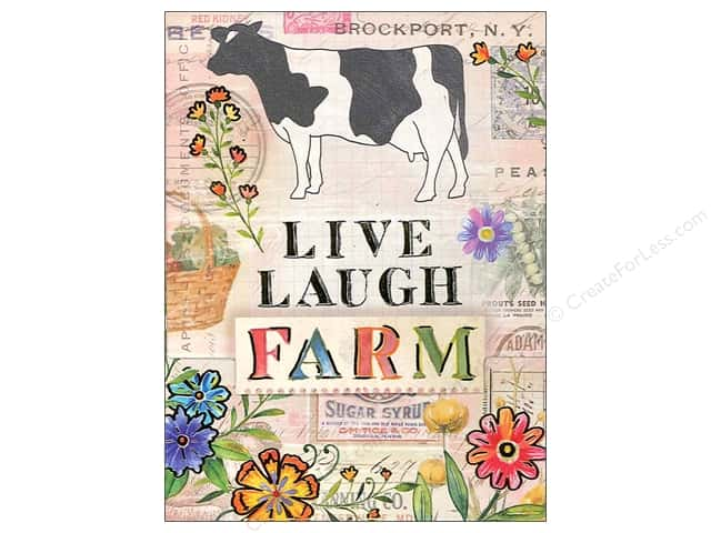 Punch Studio Pocket Note Pad Farm Fresh Cow