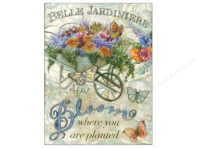 Punch Studio Pocket Note Pad Words Of Wisdom Gardening Bloom