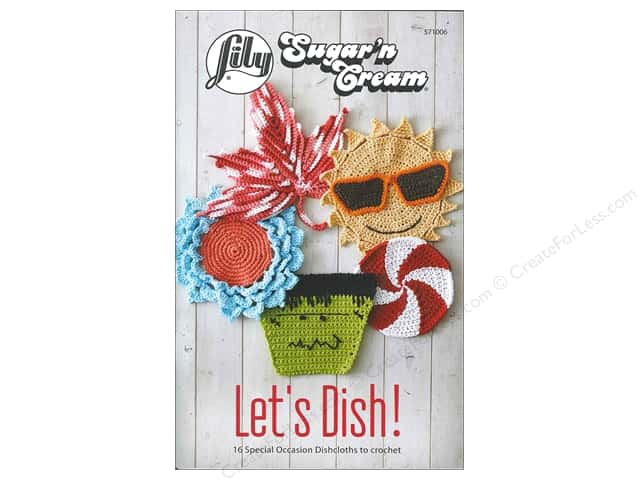 Lily Books Sugar'n Cream Let's Dish Book