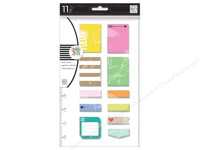 Me&My Big Ideas Create 365 Happy Planner Sticky Notes Happy