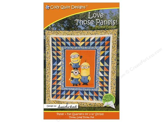 Cozy Quilt Designs Love Those Panels! Minion Edition Pattern