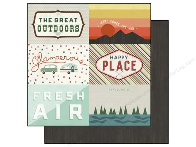 Echo Park 12 x 12 in. Paper Wild Life Collection Journaling Cards (25 sheets)
