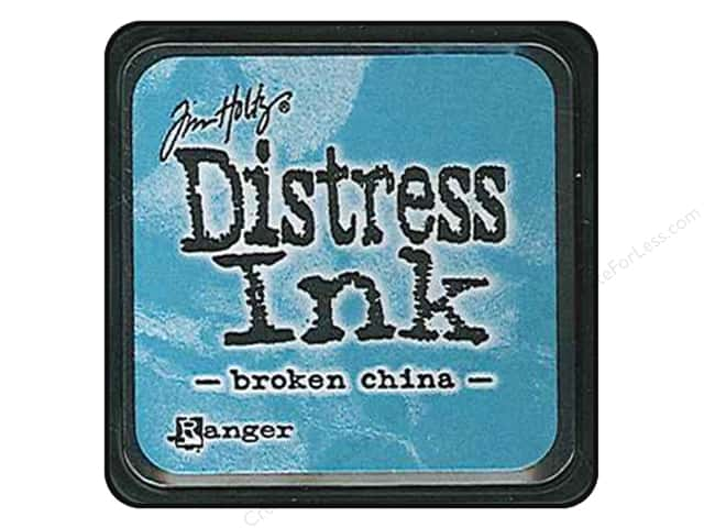 Tim Holtz Distress Mini Ink Pad by Ranger Broken China