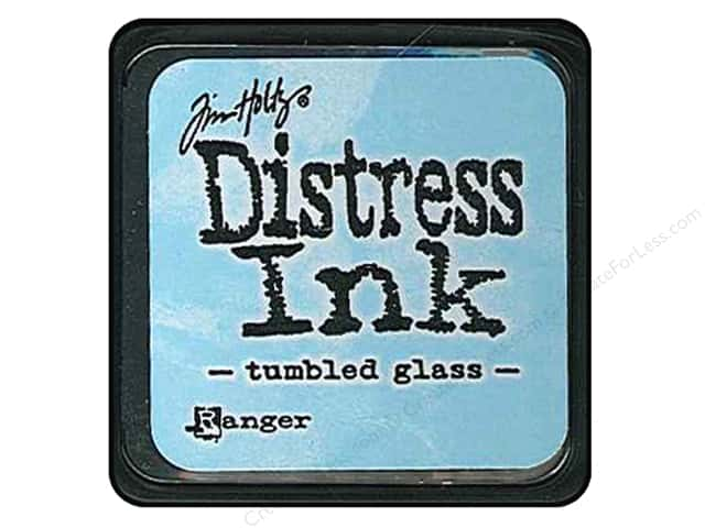 Tim Holtz Distress Mini Ink Pad by Ranger Tumbled Glass