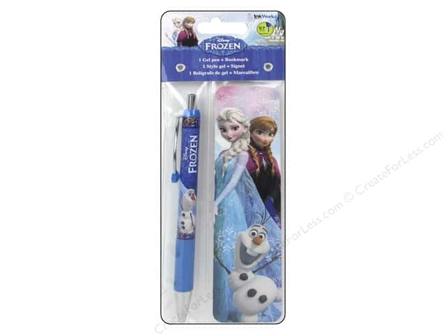 Ink Works Pen Gel & Bookmark Disney Frozen