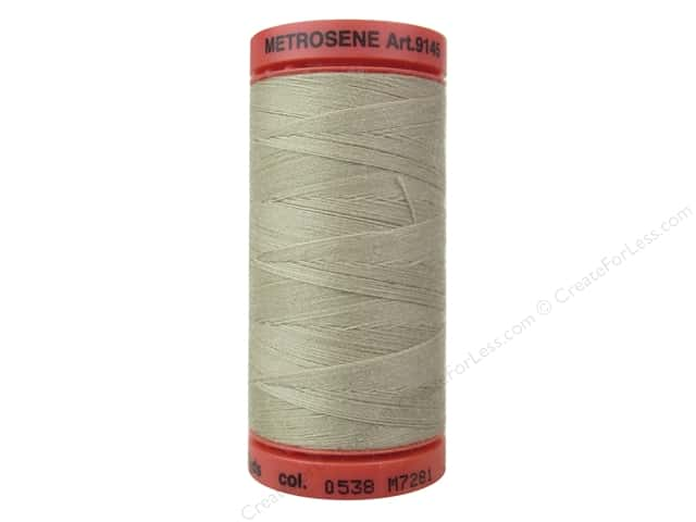 Mettler Metrosene All Purpose Thread 547 yd. #0538 Straw