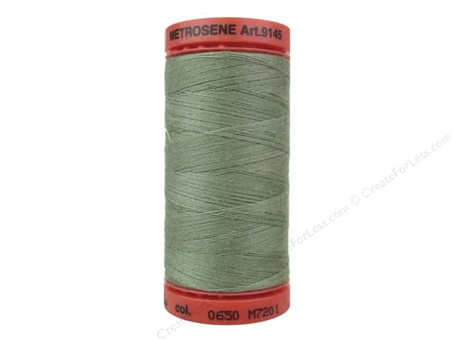 Mettler Metrosene All Purpose Thread 547 yd. #0650 Cypress