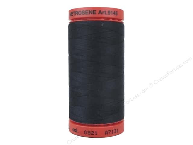 Mettler Metrosene All Purpose Thread 547 yd. #0821 Darkest Blue