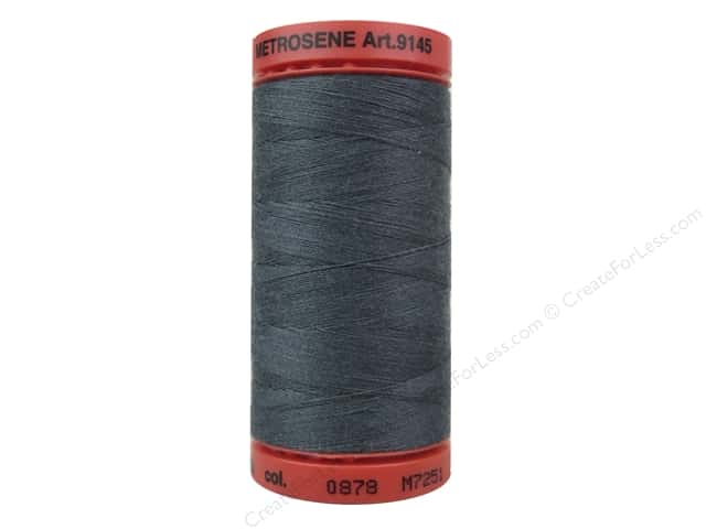 Mettler Metrosene All Purpose Thread 547 yd. #0878 Mousy Gray