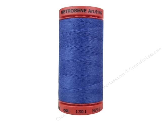 Mettler Metrosene All Purpose Thread 547 yd. #1031 Nordic Blue