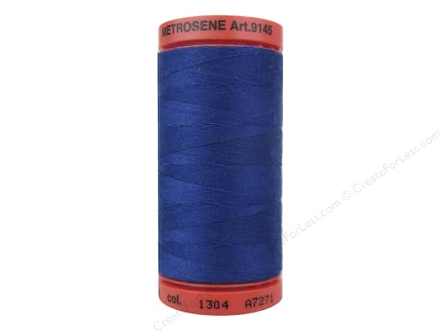 Mettler Metrosene All Purpose Thread 547 yd. #1304 Imperial Blue