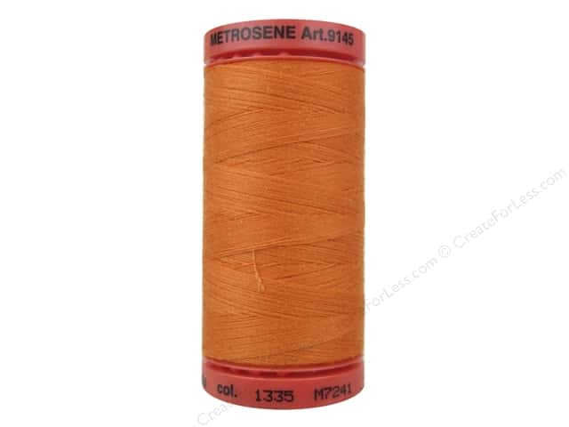 Mettler Metrosene All Purpose Thread 547 yd. #1335 Tangerine