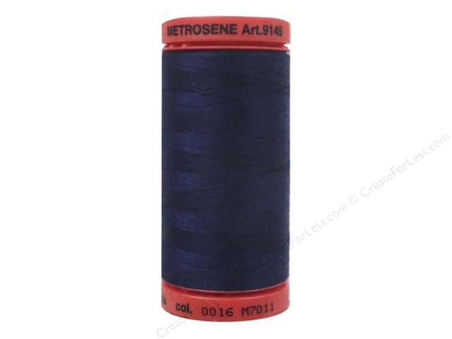 Mettler Metrosene All Purpose Thread 547 yd. #0016 Dark Indigo
