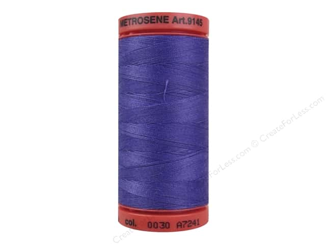 Mettler Metrosene All Purpose Thread 547 yd. #0030 Iris Blue