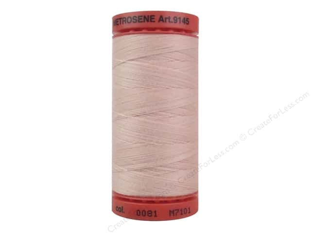 Mettler Metrosene All Purpose Thread 547 yd. #0081 Chiffon