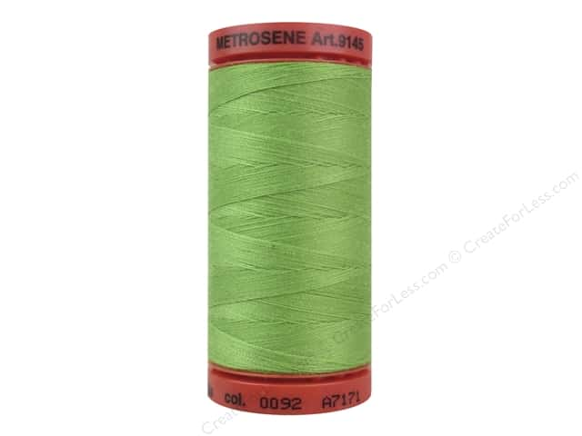 Mettler Metrosene All Purpose Thread 547 yd. #0092 Bright Mint