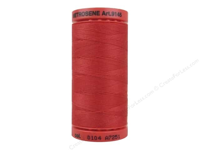 Mettler Metrosene All Purpose Thread 547 yd. #0104 Candy Apple