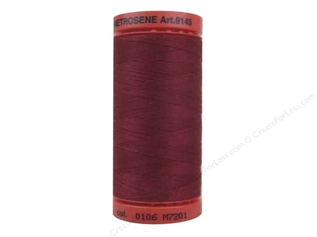 Mettler Metrosene All Purpose Thread 547 yd. #0106 Winterberry