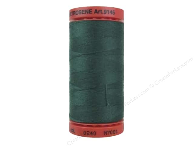 Mettler Metrosene All Purpose Thread 547 yd. #0240 Evergreen