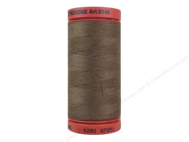 Mettler Metrosene All Purpose Thread 547 yd. #0281 Hazelnut