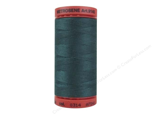 Mettler Metrosene All Purpose Thread 547 yd. #0314 Spruce