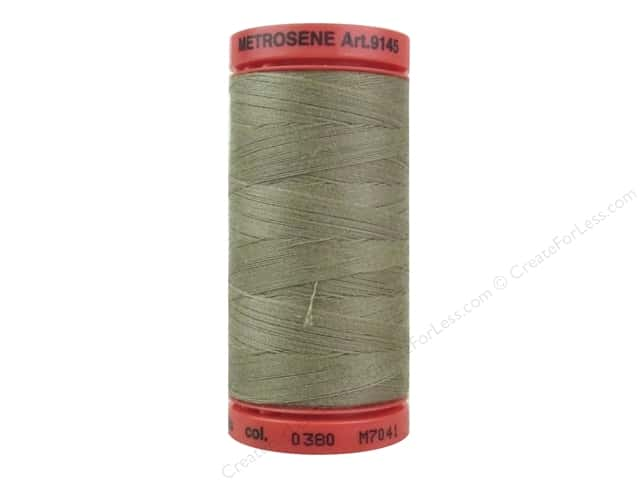 Mettler Metrosene All Purpose Thread 547 yd. #0380 Dried Clay