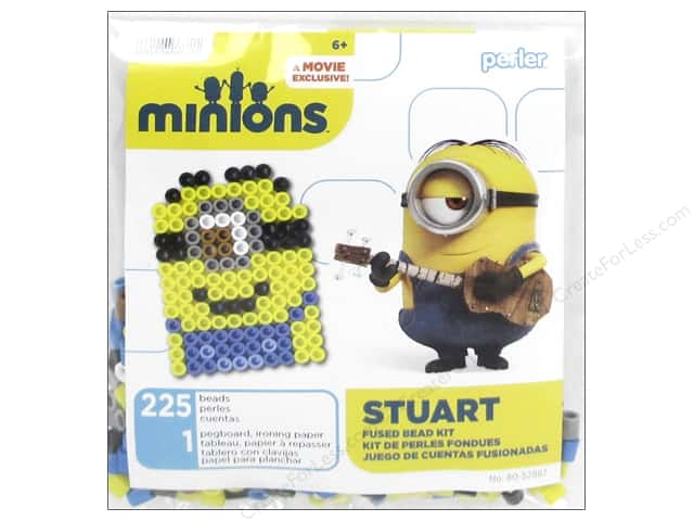 Perler Fused Bead Kit Trial Minions Stuart