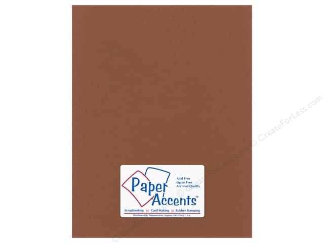 Cardstock 8 1/2 x 11 in. Smooth Truffle by Paper Accents (25 sheets)