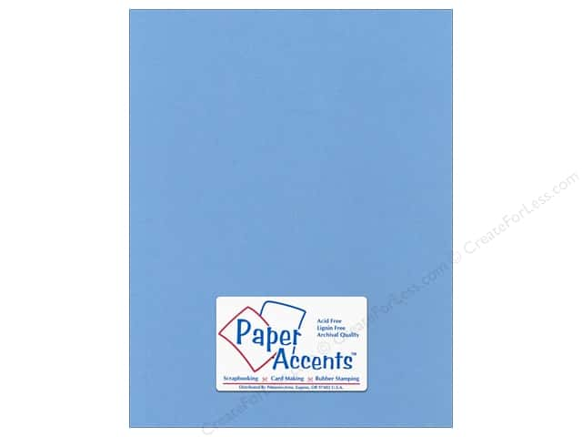 Cardstock 8 1/2 x 11 in. Canvas Winter Lake by Paper Accents (25 sheets)