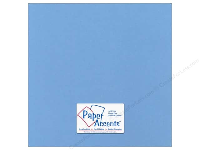 Cardstock 12 x 12 in. Canvas Winter Lake by Paper Accents (25 sheets)