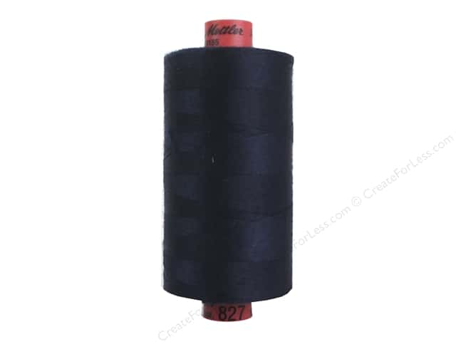Mettler Metrosene All Purpose Thread 1094 yd. #827 Dark Blue