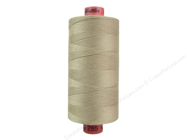 Mettler Metrosene All Purpose Thread 1094 yd. #285 Caramel Cream