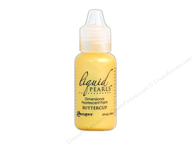 Ranger Liquid Pearls .5oz Buttercup