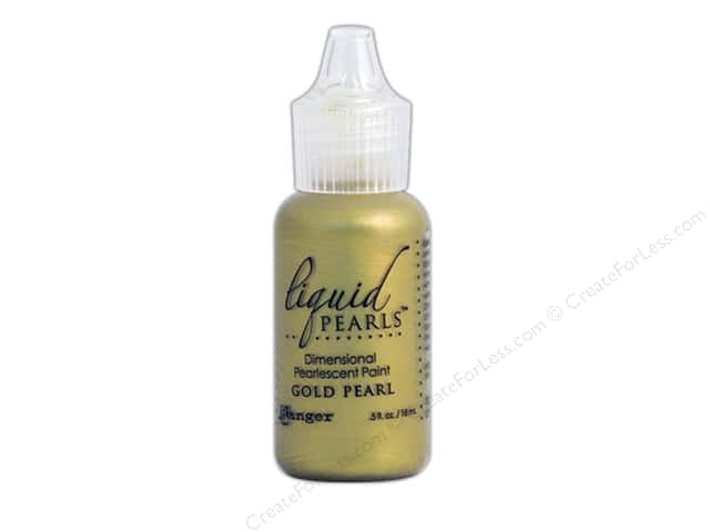Ranger Liquid Pearls .5oz Gold Pearl