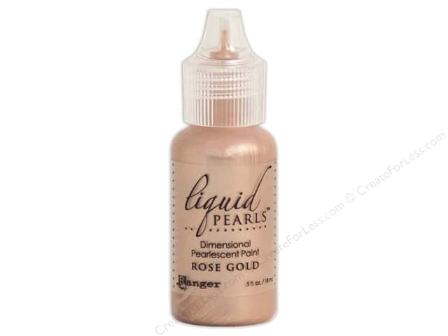 Ranger Liquid Pearls .5 oz. Rose Gold