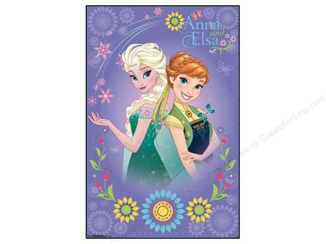 SandyLion Poster Disney Frozen Fever Anna and Elsa