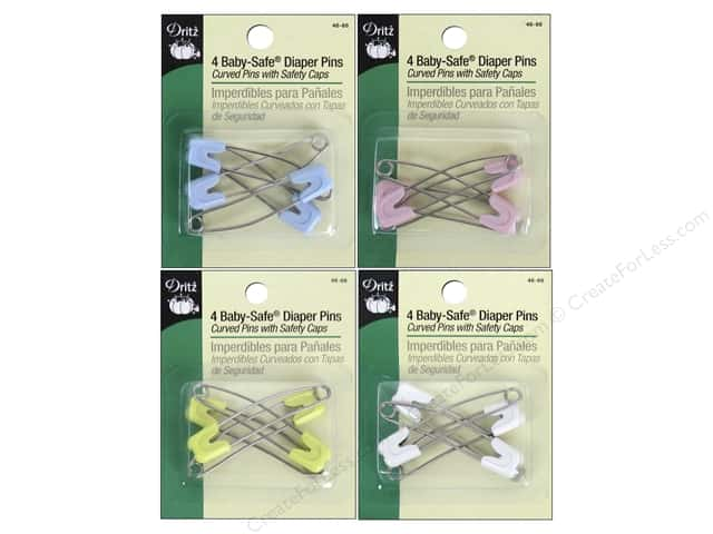 Dritz Diaper Pins 4 pc.