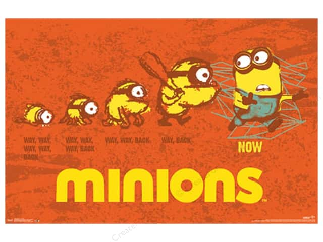Trends International Minions Evolution Poster