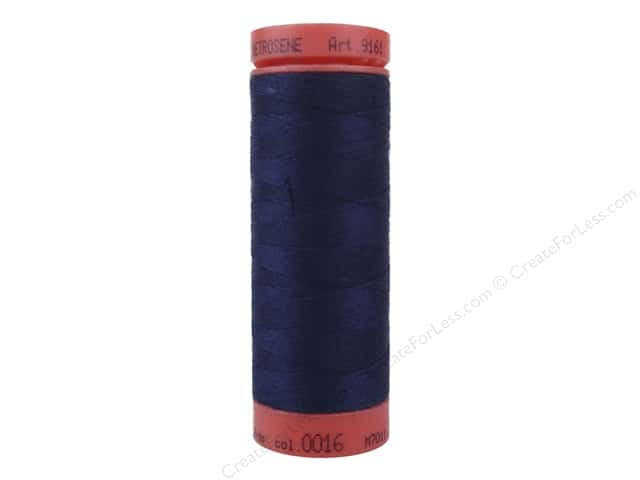 Mettler Metrosene All Purpose Thread 164 yd. #16 Dark Indigo