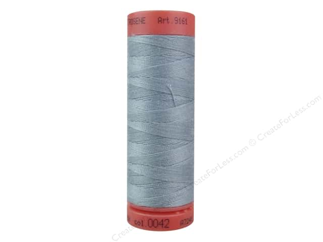 Mettler Metrosene All Purpose Thread 164 yd. #42 Ash Blue