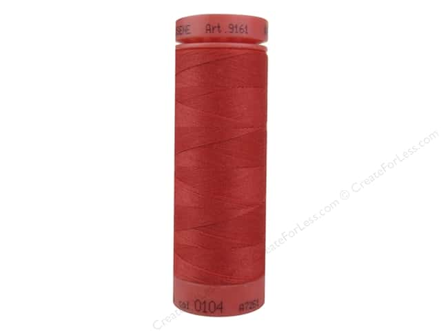 Mettler Metrosene All Purpose Thread 164 yd. #104 Candy Apple