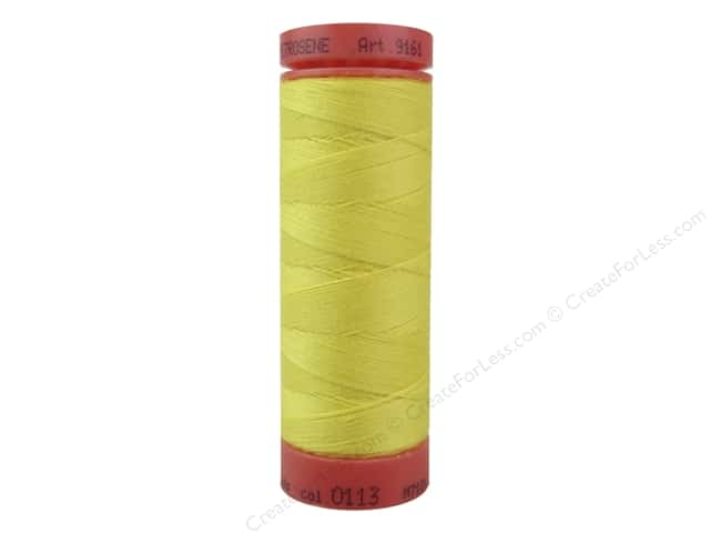Mettler Metrosene All Purpose Thread 164 yd. #113 Butter Cup