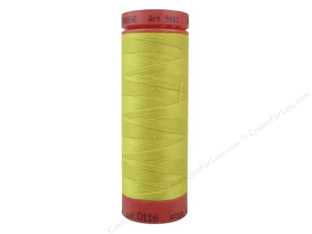 Mettler Metrosene All Purpose Thread 164 yd. #116 Yellow