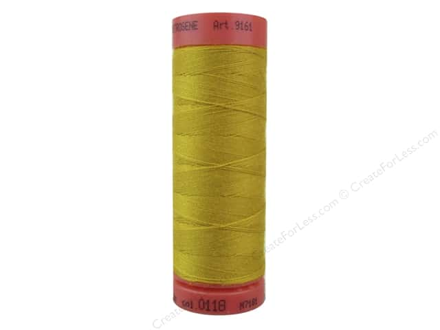 Mettler Metrosene All Purpose Thread 164 yd. #118 Gold