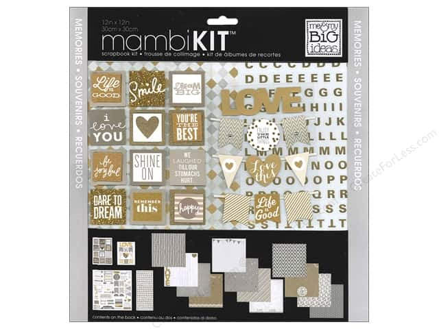 Me & My Big Ideas 12 x 12 in. Scrapbook Kit Memories