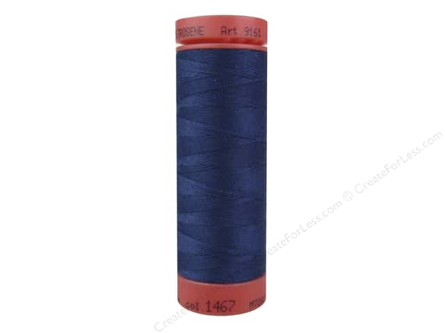 Mettler Metrosene All Purpose Thread 164 yd. #1467 Prussian Blue