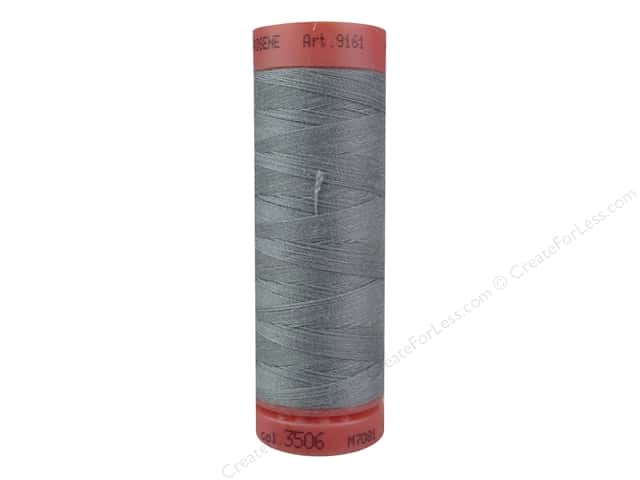 Mettler Metrosene All Purpose Thread 164 yd. #3506 Metal